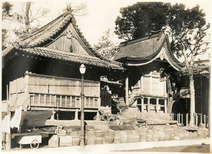 上野町時代の小戸神社