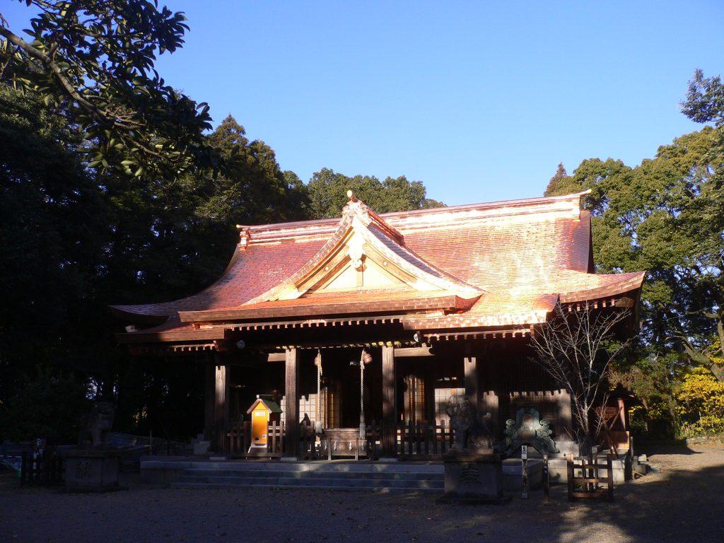 社殿の正面からの写真