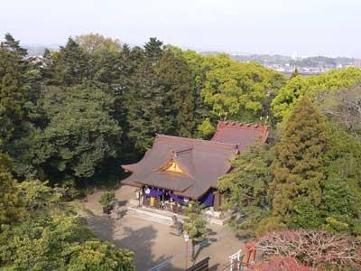 現在の社殿の写真